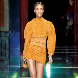 officialjdunn for balmainparis at parisfashionweek paris fashion instafashion collection runwayhellip
