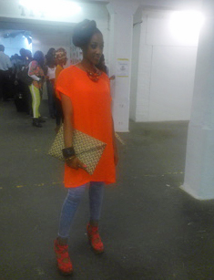 african fashion week london outfit