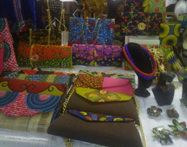 African Print Purses