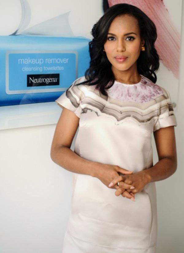 Actress Kerry Washington to be Neutrogena's new brand ambassador | BLACK AND BEAUTIFUL