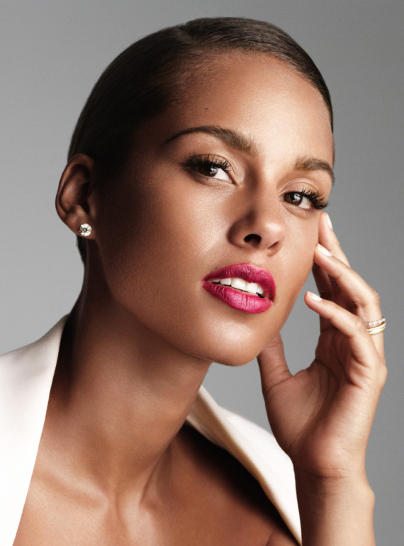 Alicia Keys parfums givenchy