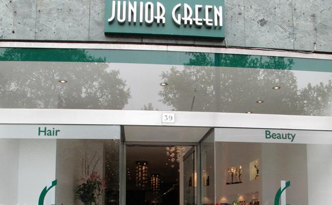 junior green salon afro londres