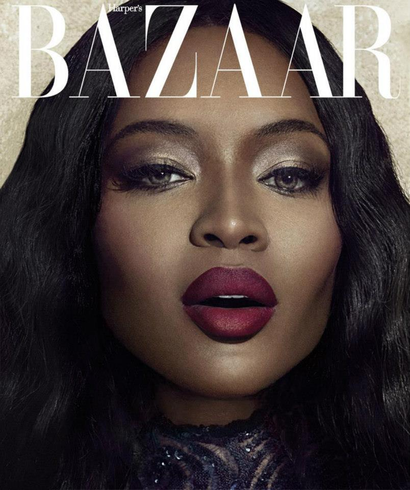 Célèbre Miss BB wants Naomi Campbell lipstick for Harper's Bazaar Vietnam  DT78