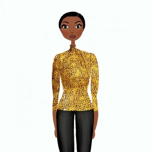 illustration missbb Top in wax mansayaofficiel naturalhairstyle afrohairstyle naturalhair blackwomenhellip