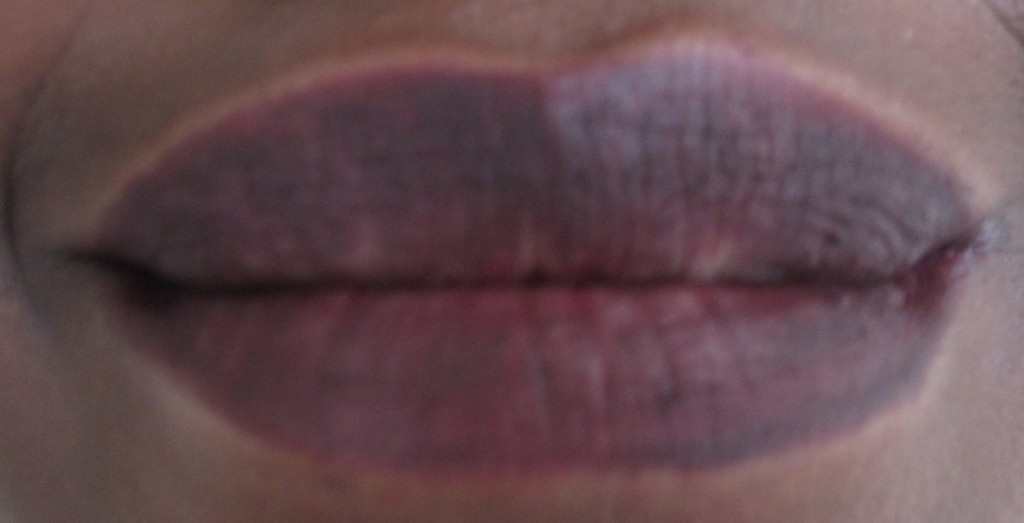 crayon a lèvres peau noire