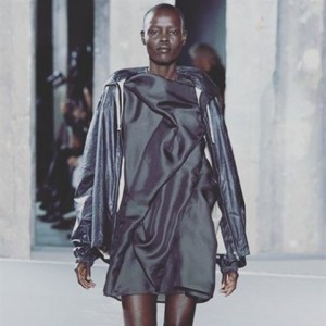 Grace Bol forpour Rick Owens at Paris fashionweek fashion instafashionhellip