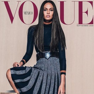 joansmalls cover voguemexico september issue Joan Smalls fait la coverturehellip