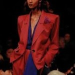 iman en yves saint laurent