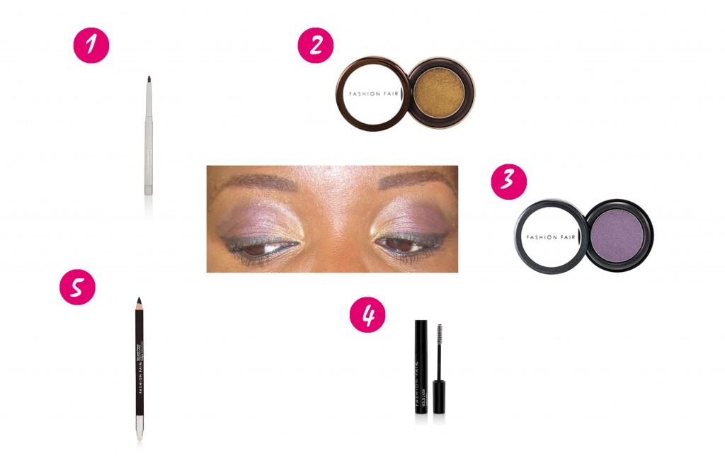 fashion fair maquillage yeux