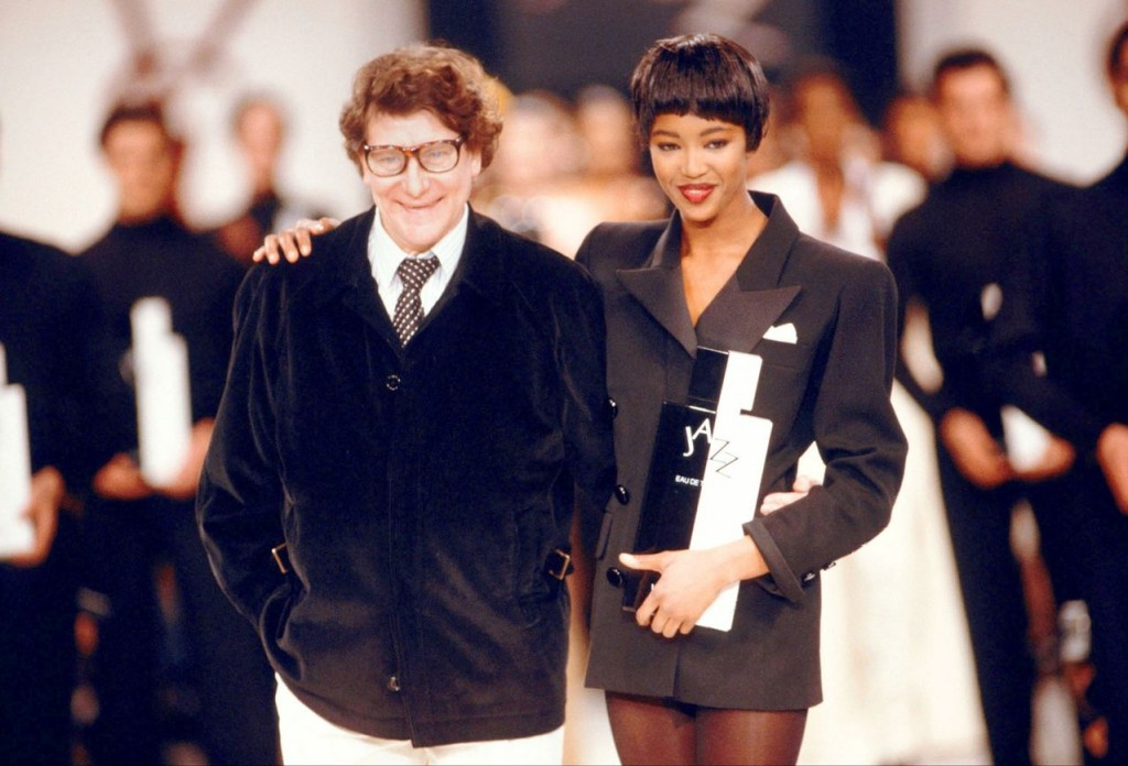 naomi campbell yves saint laurent