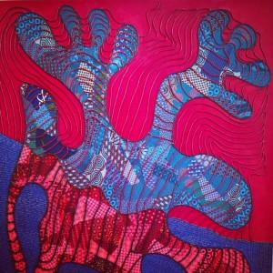 Blood type by Lizette Chirrime 154artfair art africanart 154artfair contemporaryarthellip