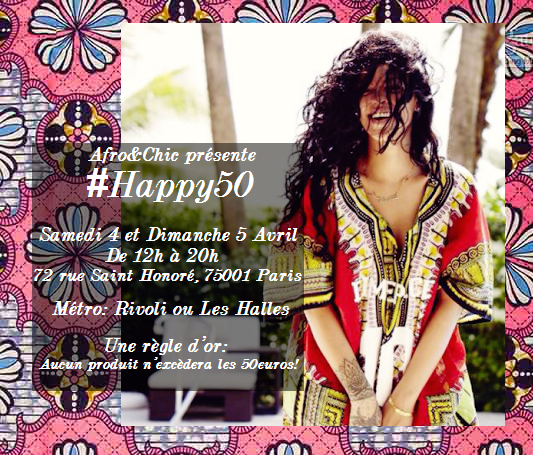afrochic vente privée happy 50