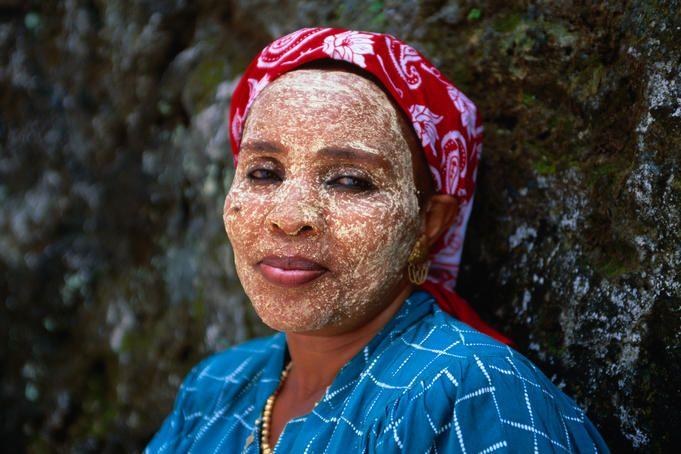 msindanu masque de beauté bois de santal comores