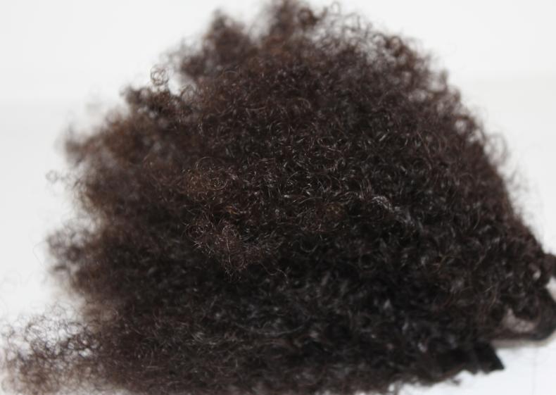 3 tissage crépu afro brésilien kinky weave nappy weft hair