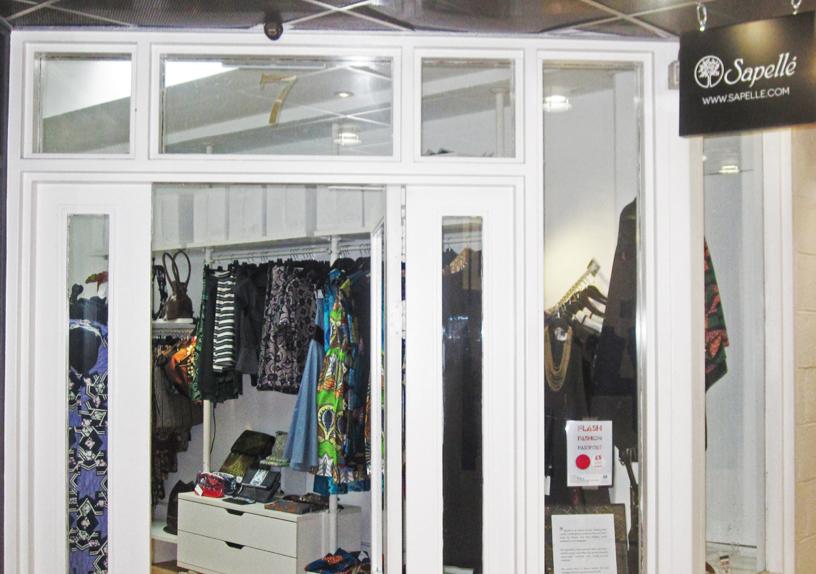 SAPELLE MODE AFRICAINE LONDRES AFRICAN boutique shop london