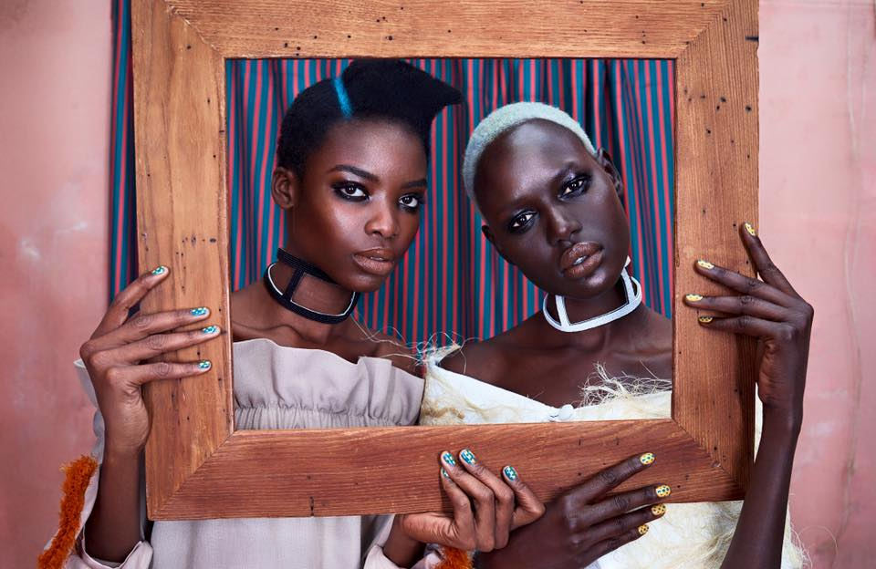 ajak deng maria borges mode africaine