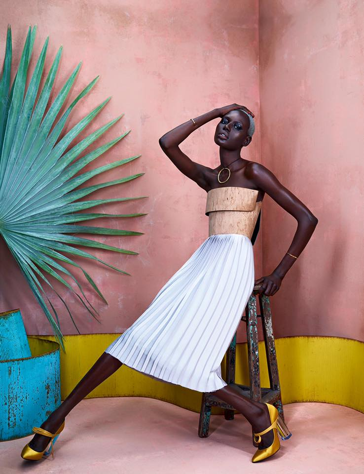 ajak deng african fashion