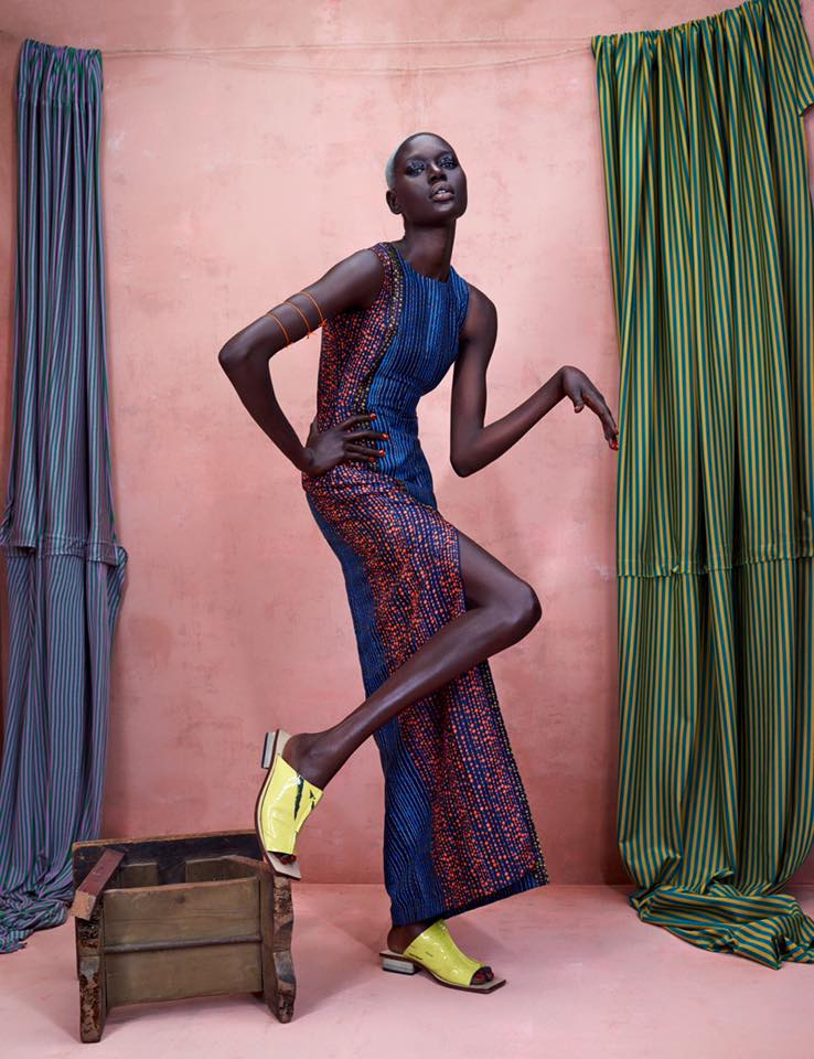 ajak deng fashion african