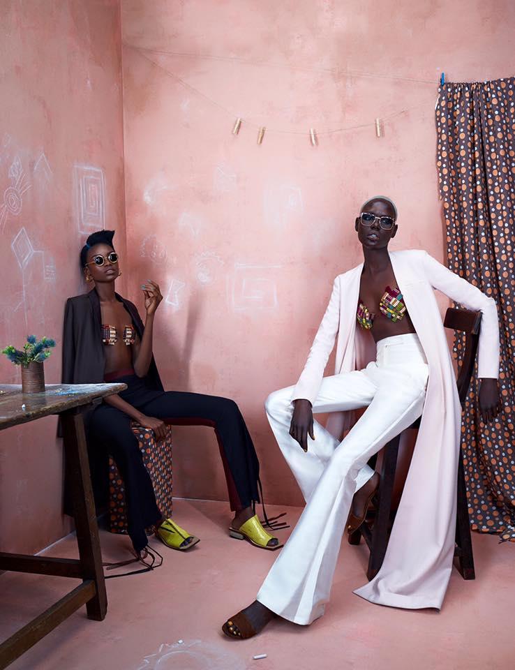 ajak deng maria borgen african designers