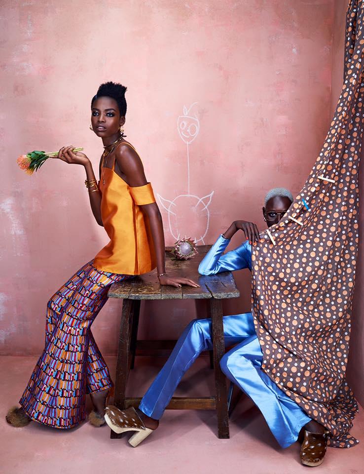 ajak deng maria borgen african fashion