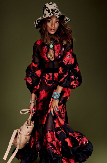jourdan dunn vogue japon