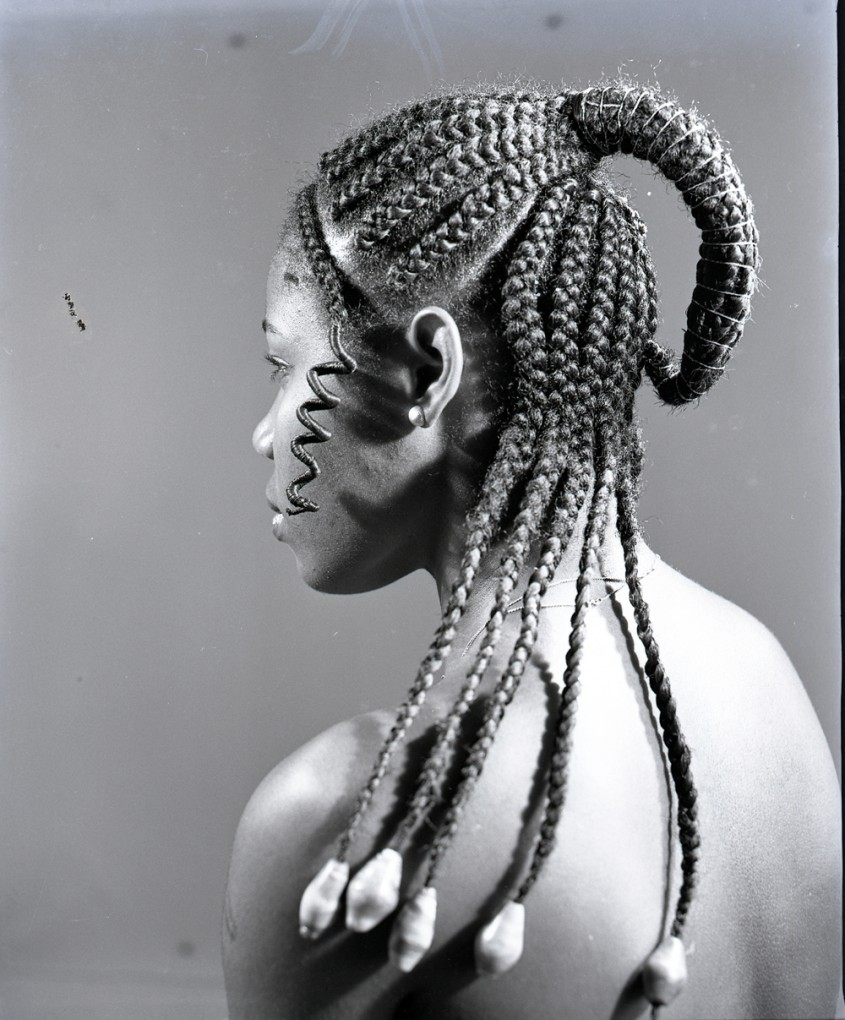 16 J.D. Okhai Ojeikere traditional nigerian hairstyles series