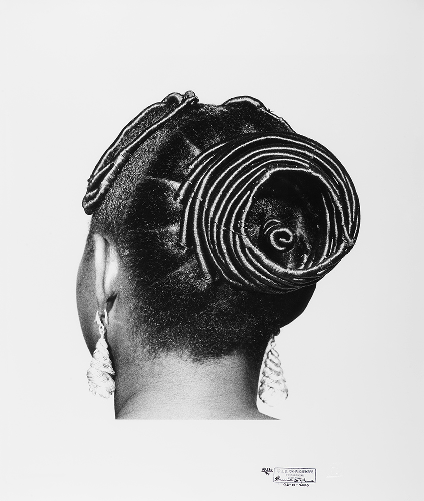 6 J.D. Okhai Ojeikere traditional nigerian hairstyles series