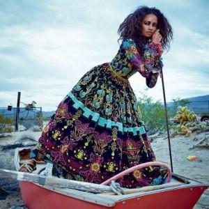 MalaikaFirst in Valentino fashion instafashion blackmodel Continue Reading rarr