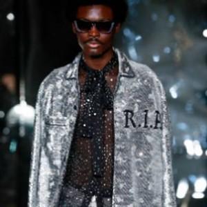 ashishuk fashionshow londonfashionweek ss18 fashion instafashion ashish outfit jacket catwalkhellip