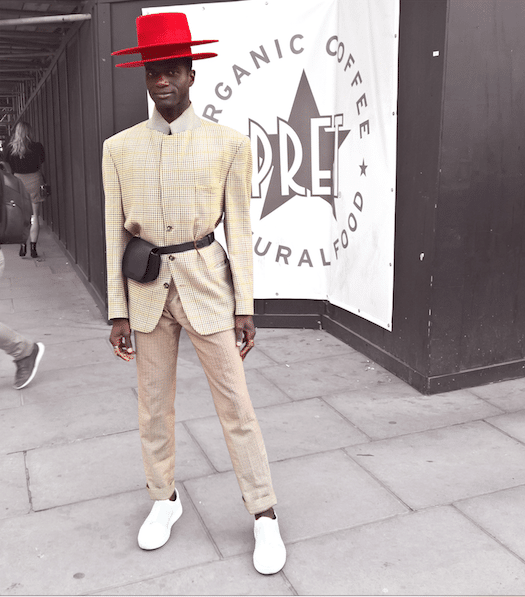 red hat london fashion week street style