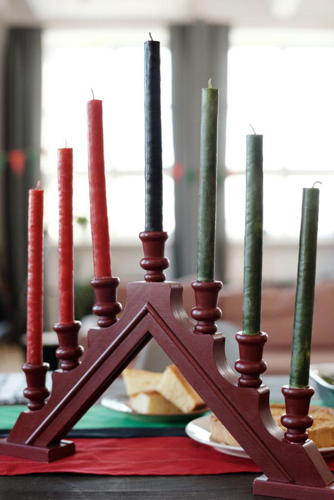 Kinara Candle Holder Kwanzaa