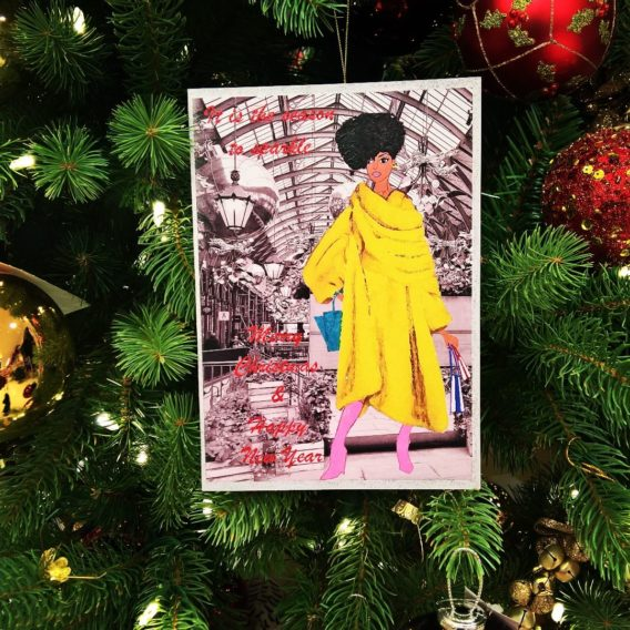 black american christmas cards