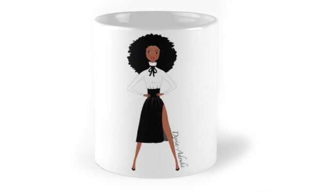 black-woman-coffee-mug