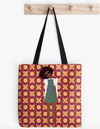 havana style tote bag