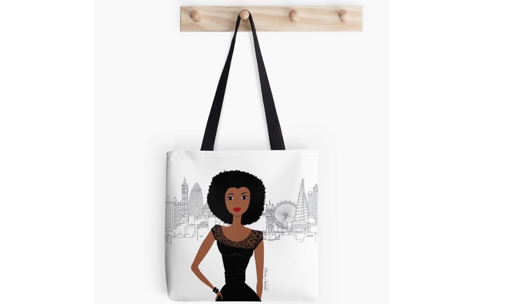 african-american-tote-bags