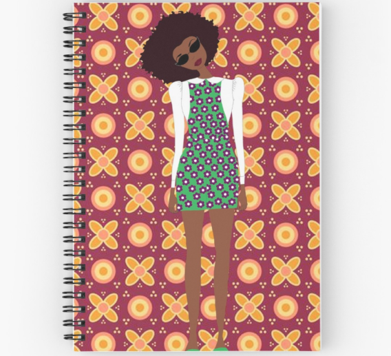 black girl magic notebook