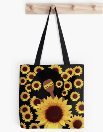 sunflower totebag