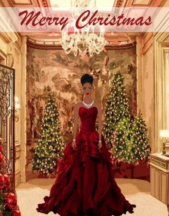 african-american-cindirella-christmas-cards