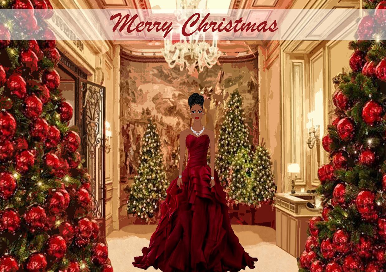 Cinderella Christmas.African American Cinderella Christmas Cards Pre Order