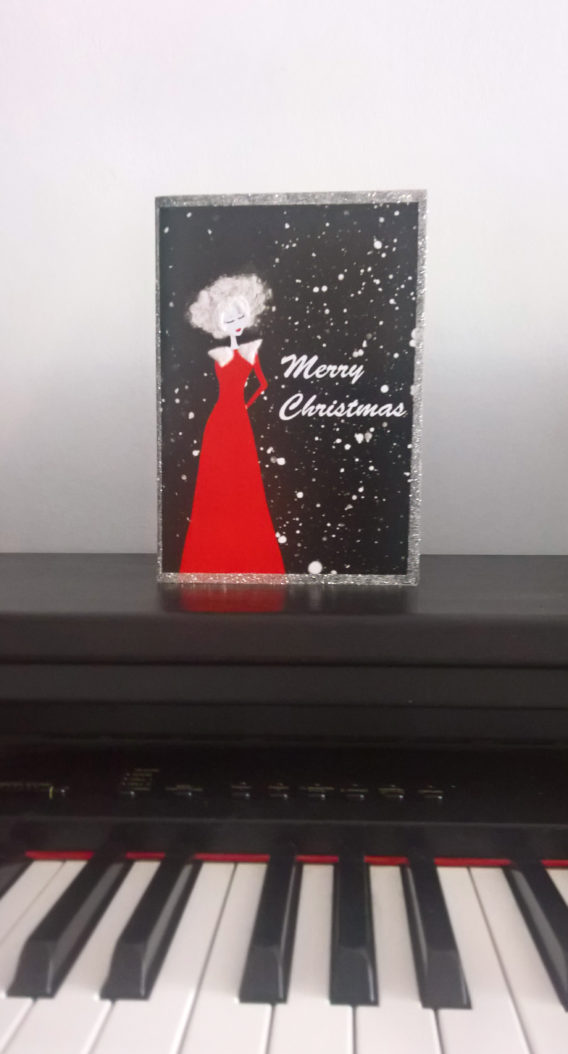 woman-red-dress-christmas-card