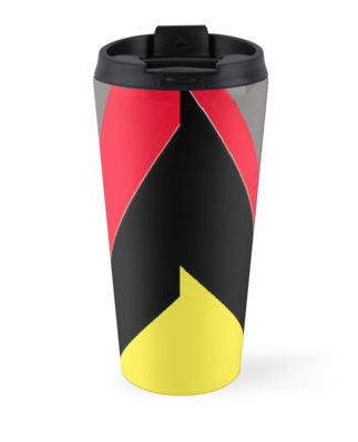 afro coffee travel mug
