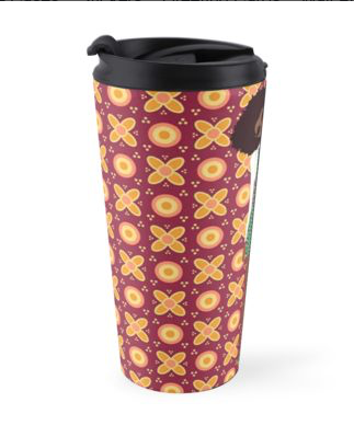 black girl magic travel coffee mug