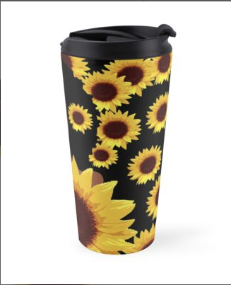 sunflower-tea-travel-mug